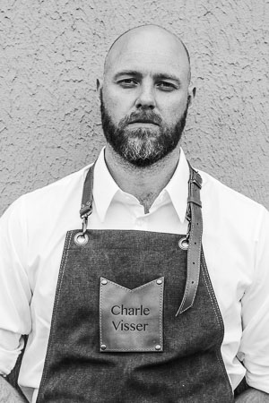 Charlé Visser, Professional Chef