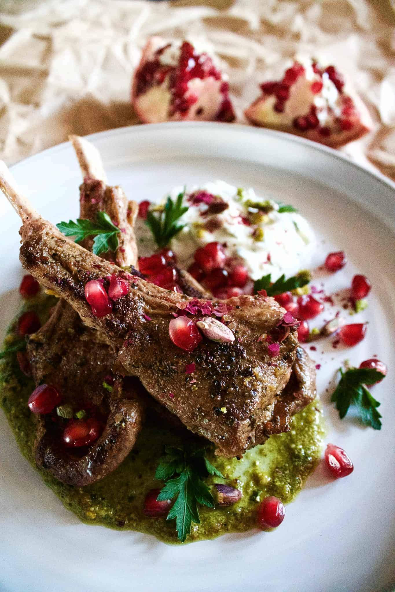 how to cook lamb cutlets on weber