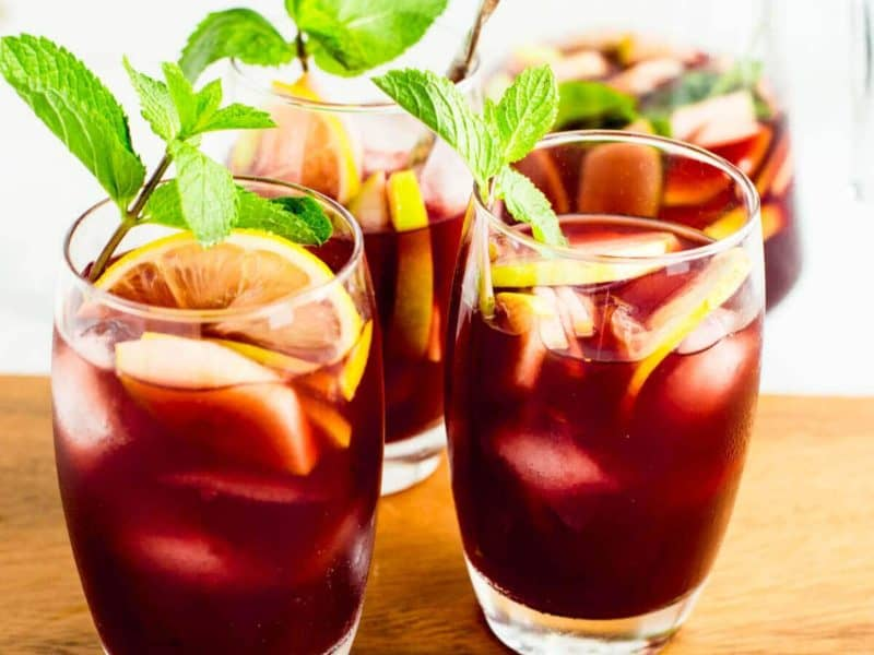 the best Spanish red sangria recipe