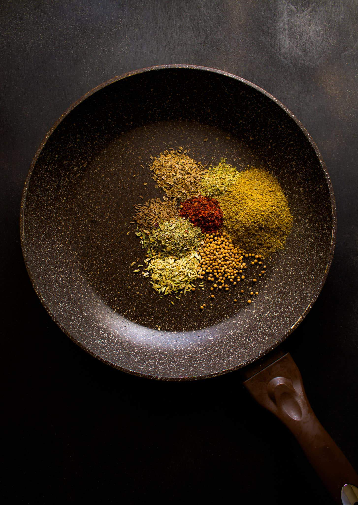 how to toast spices for adjika