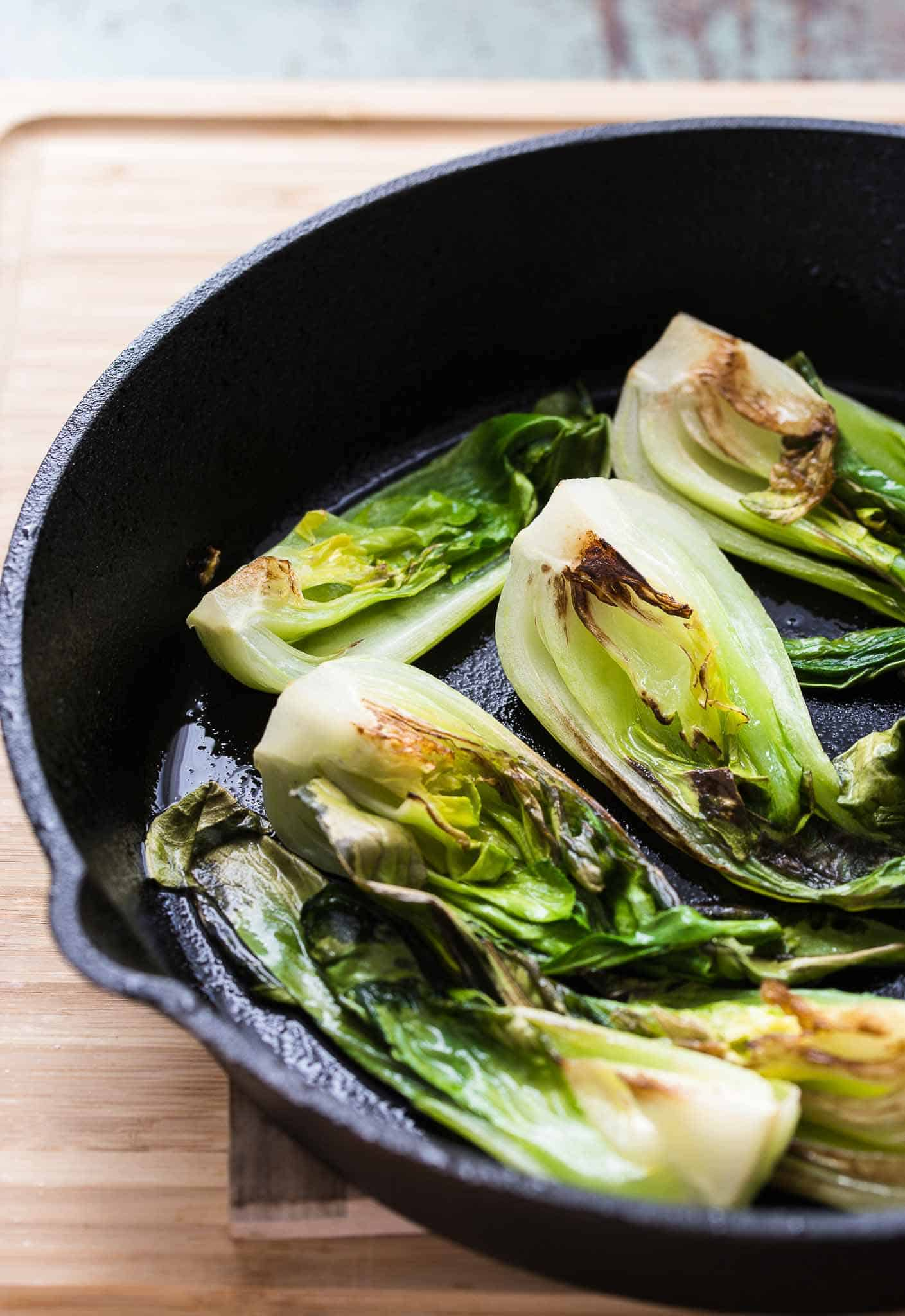 Bok Choy What Is It Easy 5 Minutes Garlicky Bok Choy Recipe