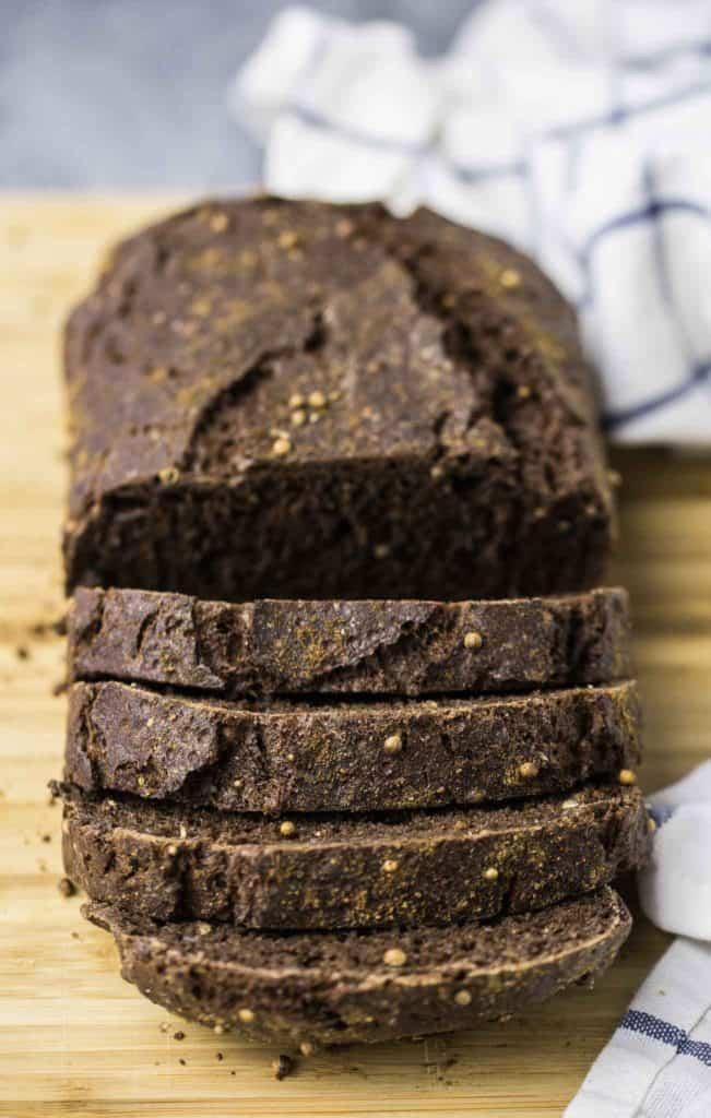 borodinsky dark rye bread