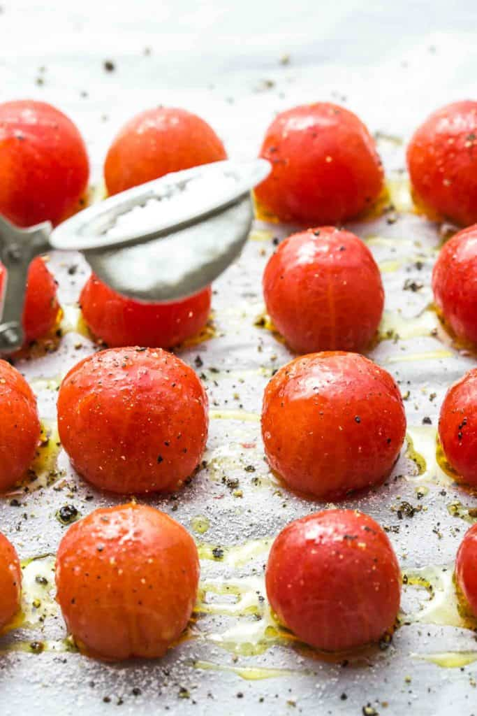 curing cherry tomatoes