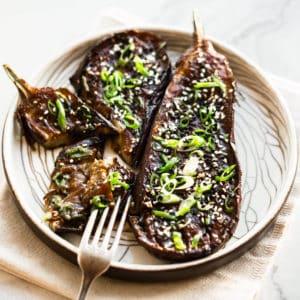 den miso eggplant.