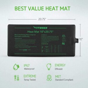 black heating mat