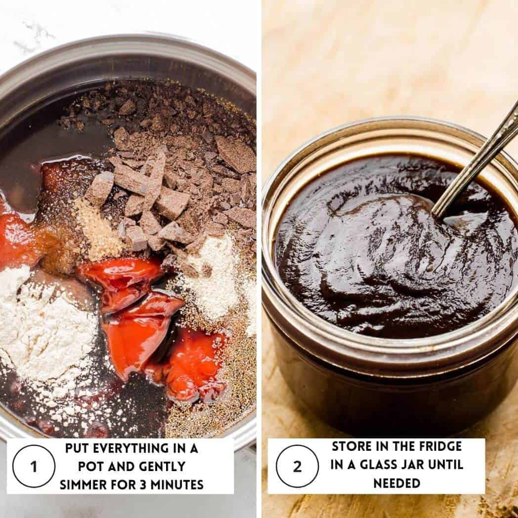 how to cook bbq sauce