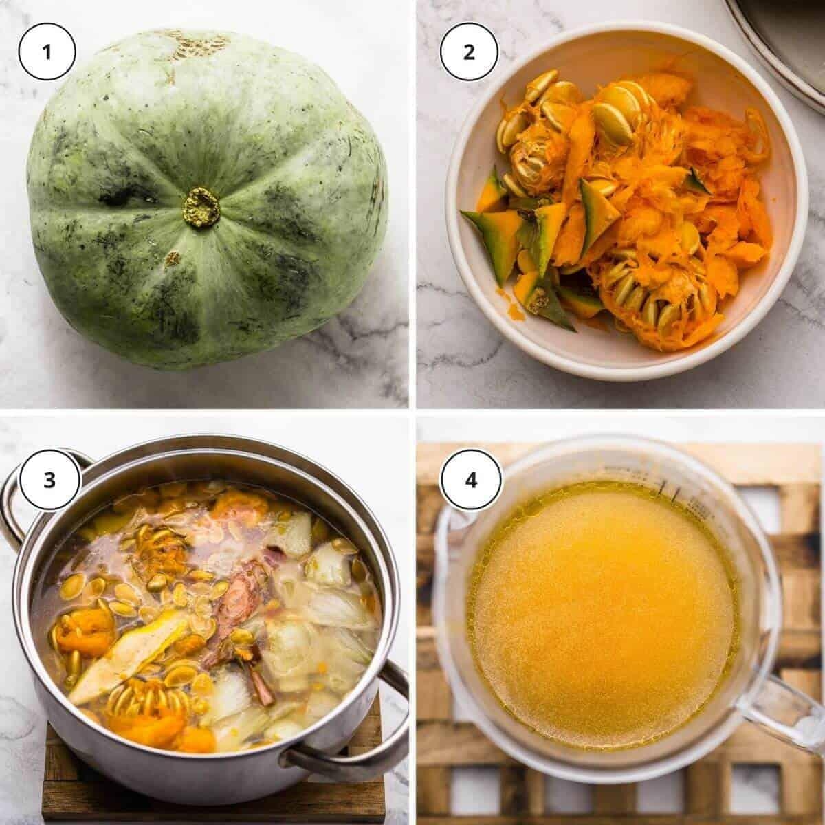 how to make pumpkin stock