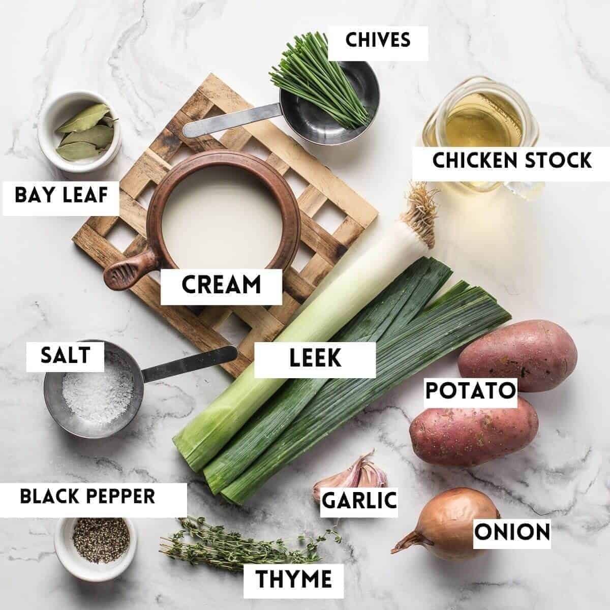 ingredients needed for this soup recipe