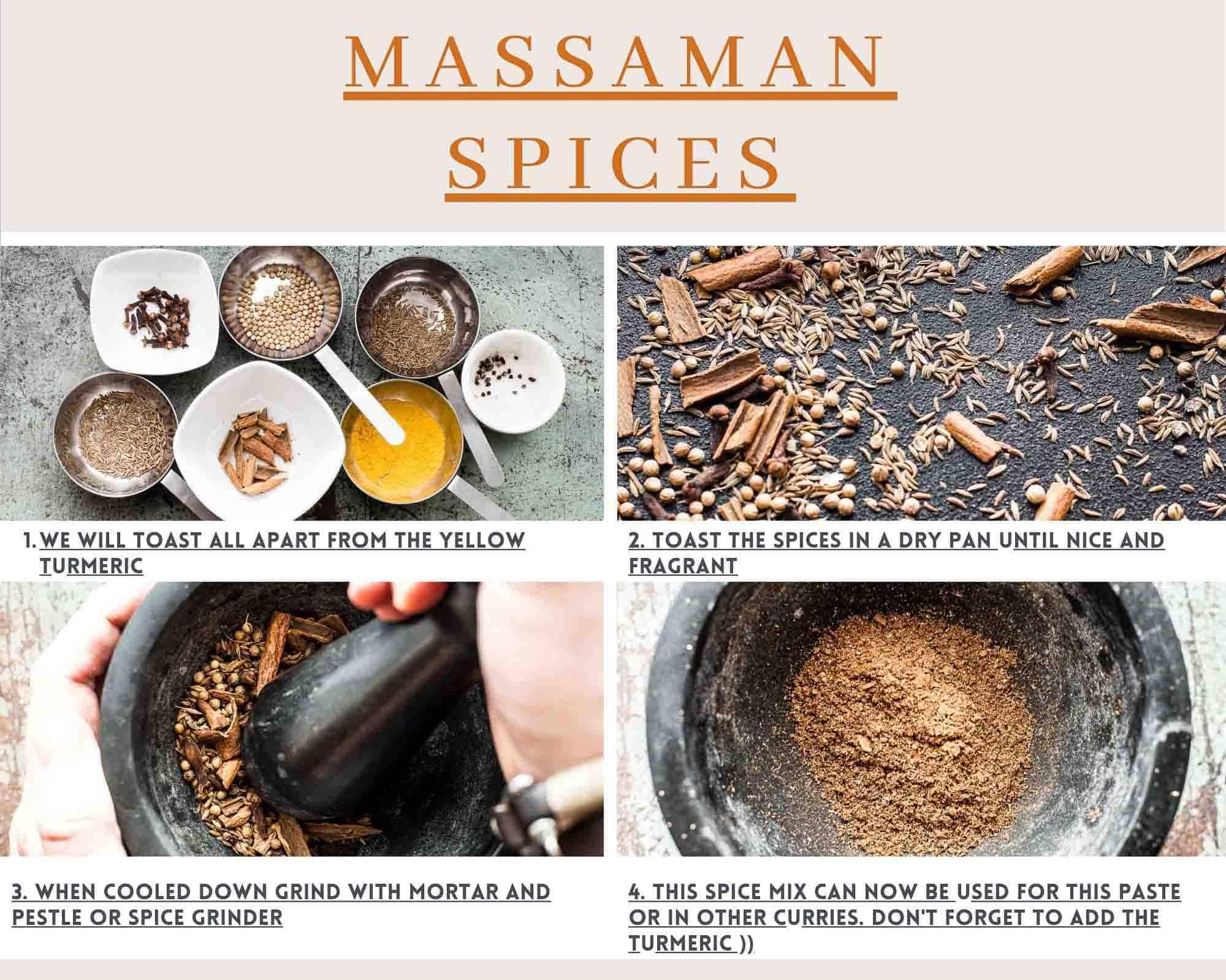massaman spices