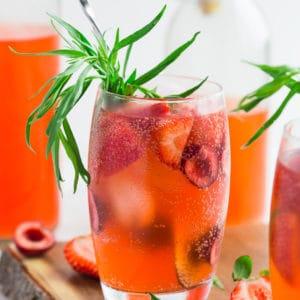 strawberry soda