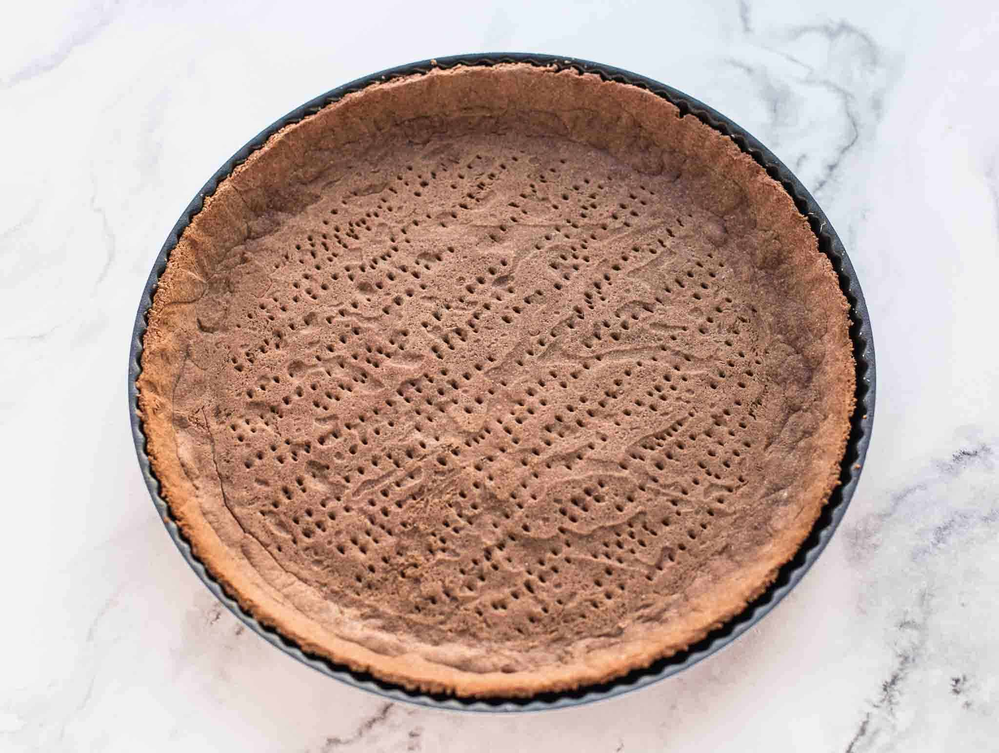 flaxseed pastry crust