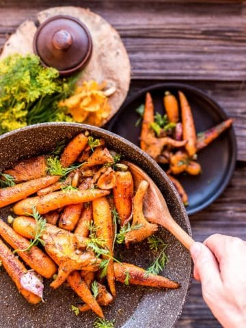 roasted-carrots-and-chanterelles