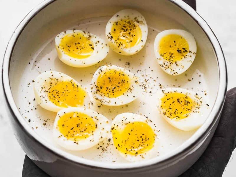 soft boiled quail eggs