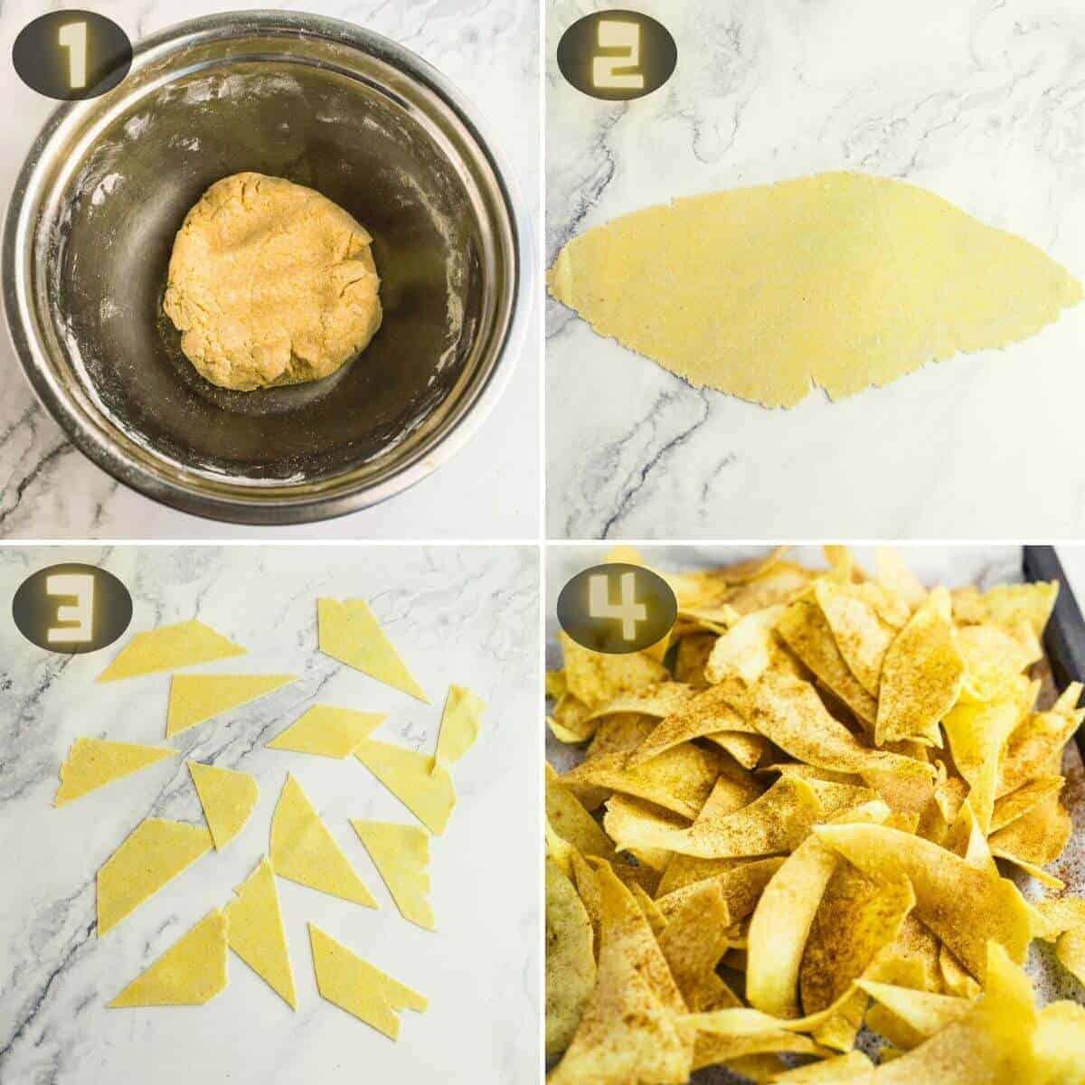 corn tortilla chips instructions
